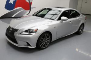 2014 Lexus IS F-SPORT SUNROOF REAR CAM BLUETOOTH