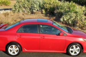 2011 Toyota Corolla RARE S 5 SPEED~BARCELONA RED~SWEET!!