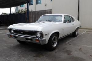 1969 CHEVROLET NOVA SS 350V8 3 SPEED MAN D/ BRAKES 12 BOLT REAR GREAT CONDITION