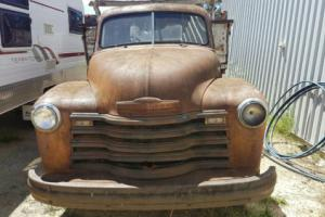 Chev 1950 Truck, all original and 99.99% complete make great pickup, collector