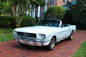 1965 Ford Mustang Convertible 289 V8 Auto Power Steering, Brakes A/C