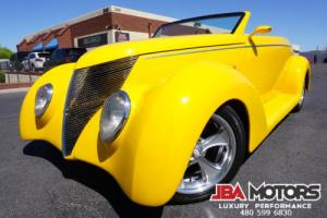 """1937 Ford Roadster Convertible 37 Ford Pro built """"Coast to Coast by Rods by Dutch"""