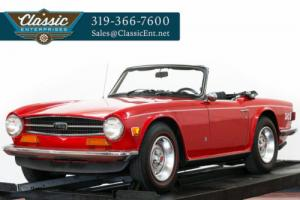 1973 Triumph TR-6 Roadster 4 Speed