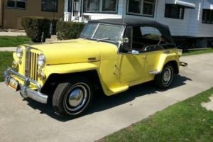 1948 Willys Overland Jeepster Photo