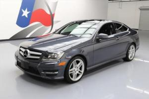 2013 Mercedes-Benz C-Class C250 COUPE P1 PANO SUNROOF NAV