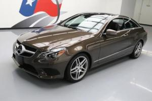 2014 Mercedes-Benz E-Class E350ATIC COUPE AWD P1 NAV Photo