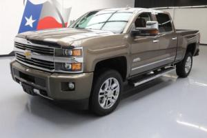 2015 Chevrolet Silverado 2500 HD HIGH COUNTRY 4X4 DIESEL