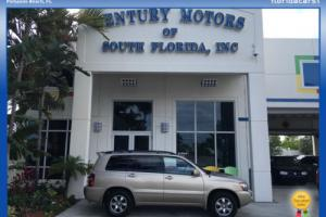 2004 Toyota Highlander SUV LEATHER 1 OWNER LOW MILES