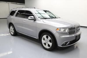 "2015 Dodge Durango SXT 7-PASS BLUETOOTH 20"" WHEELS"