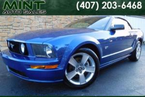 2007 Ford Mustang GT Premium 2dr Conv Manual