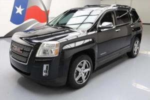 2011 GMC Terrain SLT-2 HTD LEATHER SUNROOF NAV
