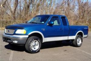 2000 Ford F-150 XLT 4WD 4X4 SUPERCAB PICKUP TRUCK