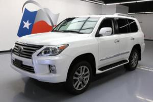 2015 Lexus LX AWD LUX LEATHER SUNROOF NAV DVD