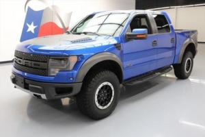 2013 Ford F-150 SVT RAPTOR 6.2L CREW 4X4 SUNROOF NAV