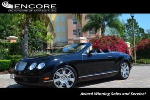 2007 Bentley Continental GT 2dr Convertible W/Navigation