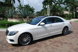 2014 Mercedes-Benz 500-Series S550 4MATIC SEDAN