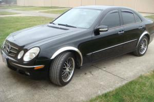 2006 Mercedes-Benz E-Class Sedan 4 Matic
