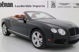 2014 Bentley Continental GT GTC V8 Convertible AWD