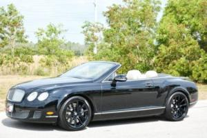 2010 Bentley Continental GT Speed Convertible