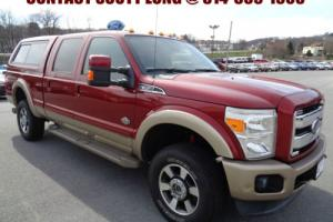 2013 Ford F-350 2013 F-350 King Ranch Ruby Red 6.7L Diesel 4x4