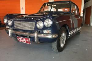 RARE 1960s TRIUMPH HERALD 12/50 SUIT VITESSE for Sale