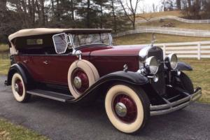 1930 Cadillac 340 Five-Passenger Fleetshire Phaeton Photo