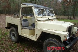 1979 Land Rover Defender Series III 1/4 Ton Military Light Weight