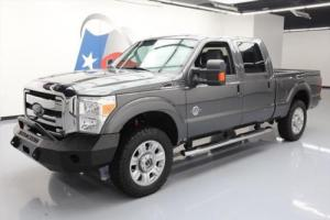 2015 Ford F-250 XLT 4X4 DIESEL HD BUMPER SIDE STEPS