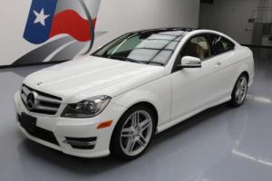 2013 Mercedes-Benz C-Class C350 COUPE PANO SUNROOF NAV