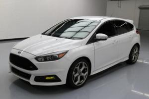 2015 Ford Focus ST HATCHBACK 6-SPD RECARO LEATHER