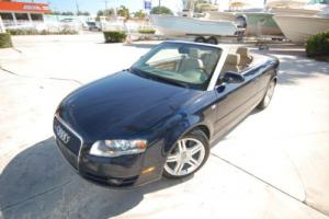 2008 Audi A4 CABRIOLET 2.0T