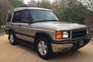 2000 Land Rover Discovery w/Leather