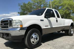 2004 Ford F-350 LARIAT DRW 4X4 SUPERCAB POWERSTROKE TURBO DIESEL