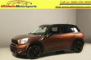 2013 Mini Cooper S 2013 COUNTRYMAN S LEATHER BLUETOOTH 42K MILES