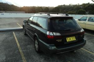 SUBARU OUTBACK H6 FULLY OPTIONED WRX TURBO 4WD RACE CAR