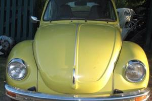 1975 VW Super Beetle 1600 L BUG Rack and Pinion Steering Low Klms