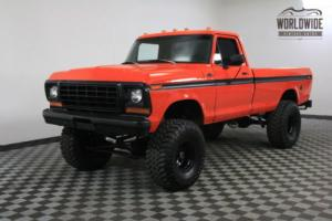 1978 Ford F-150 4X4 RESTORED 351 V8 4 SPEED