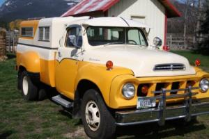 1963 International Harvester Transtar  V-8 1 ton dully