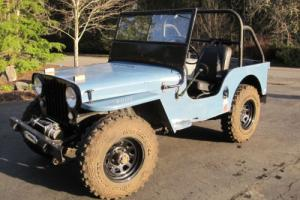 1947 Willys CJ-2a Photo