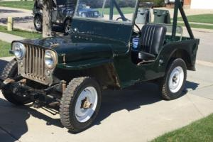 1946 Willys CJ2A Photo