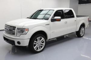 2014 Ford F-150 LIMITED CREW 4X4 ECOBOOST NAV 20'S