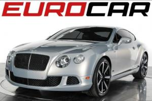 2013 Bentley Continental GT SPEED LE MANS EDITION ($234,540.00 M.S.R.P.)