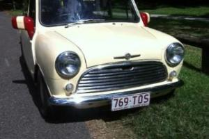 Morris Mini 1969 Classic Original Photo