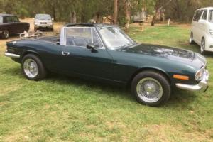 "Triumph Stag Custom Convertible ""Bargain"" restored."