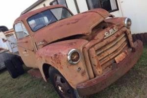 1953 gmc, chev, truck with holden v8 1 tonner rat rod project