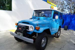 1977 Toyota Land Cruiser RESTORED FJ40 HARDTOP WITH AMBULANCE DOORS