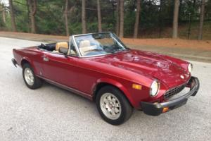 1982 Fiat 124 Spider 124 Spider 2000 Convertible for Sale