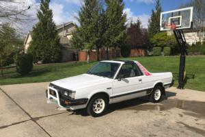 1985 Subaru Brat GL Pickup 4WD Photo