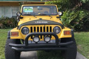 2000 Jeep Wrangler 2 DOOR