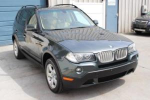 2008 BMW X3 3.0si Premium Package Automatic All Wheel Drive SUV 24 mpg